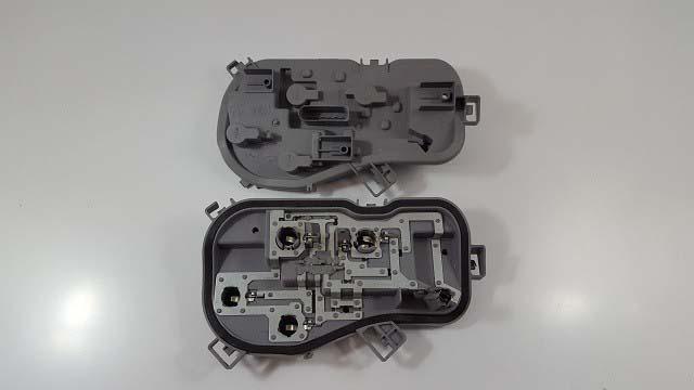 Molde plástico injetora