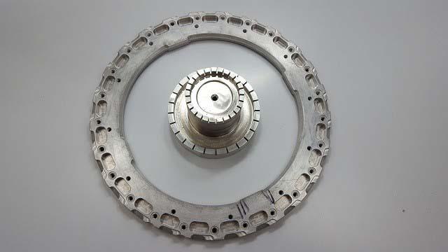 Usinagem de peças metálicas